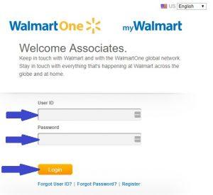 WalmartOne Login at walmartone.com