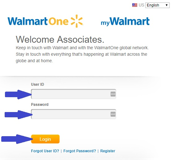 walmartone login page