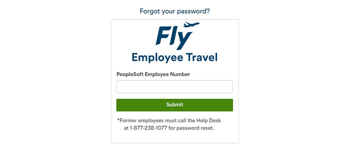 Alaska Airlines Paperless Employee Travel Login forgot password
