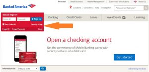 Bank of America Login at bankofamerica.com