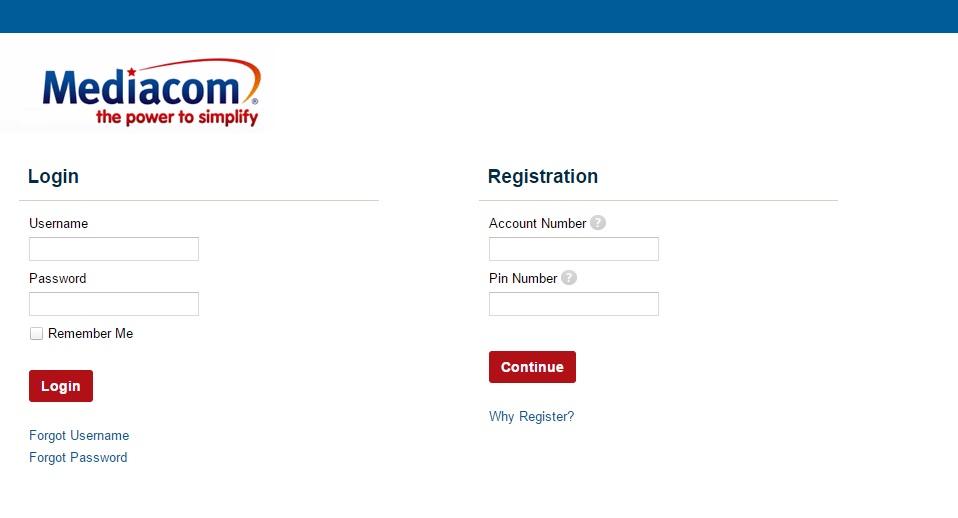 mediacom login