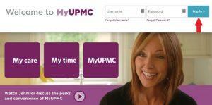UPMC Login at myupmc.upmc.com