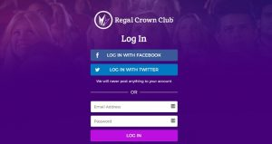 regal crown club login