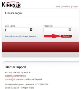 Kinnser Login at kinnser.net