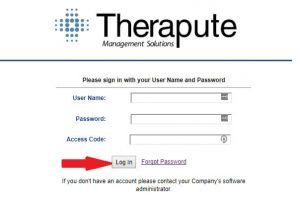 Therapute Login at toolkitsd.therapute.com