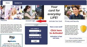 Prepaid Self Service Payroll Login at www.itsmypayroll.com