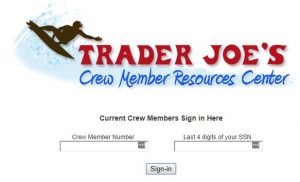 Trader Joes Member Portal Login at mytraderjoes.com