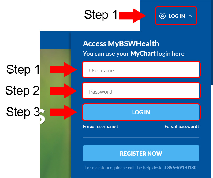 Baylor scott white health login at www mybswhealth com loginguide co