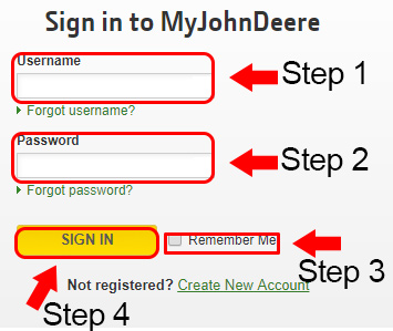 john deere website login