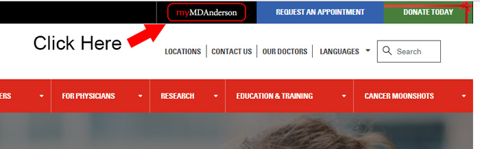 md anderson cancer center homepage