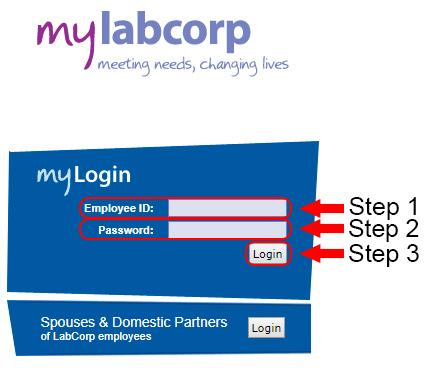 my labcorp employee login