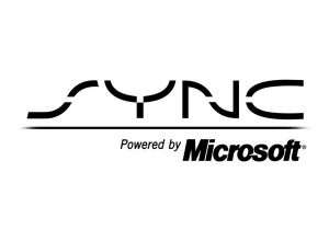 logo of sync my ride